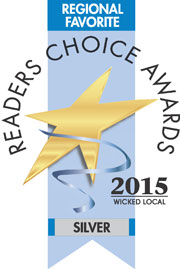 Wicked Local Reders Choice Award #2 Region